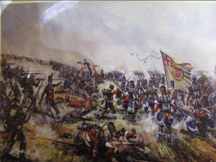 The Rout of the French Imperial Guard, Waterloo 18 June 1815-Postcard